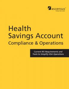 #3909 Health Savings Account Compliance & Operations Manual - 10th Edition (6/2016)