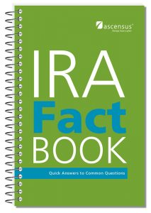 #886 IRA Fact Book - 25th Edition (10/2016)